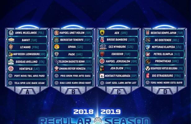 FIBA Champions 18:19
